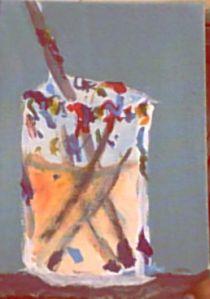 The brush jar by samantha